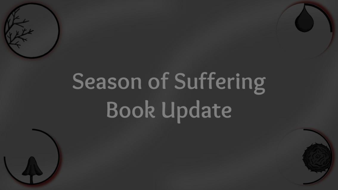 Season of Suffering – BookUpdate